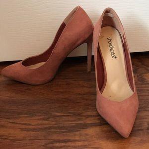 3 in Rose high heels